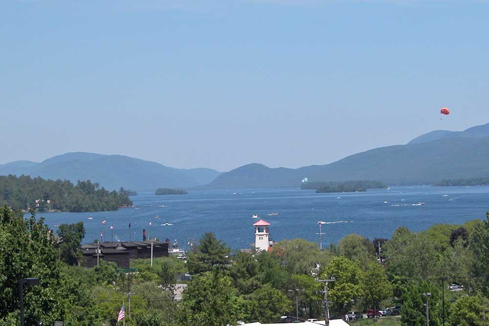Overlooking Lake George