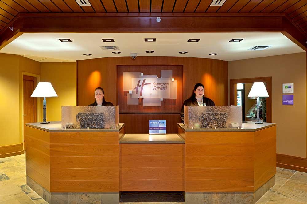 Reception Desk in Lobby
